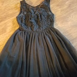 Forever 21 Size Small Black Party Dress